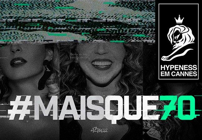 Campanhas feministas do coletivo AzMina são premiadas em Cannes, o maior festival de criatividade do mundo