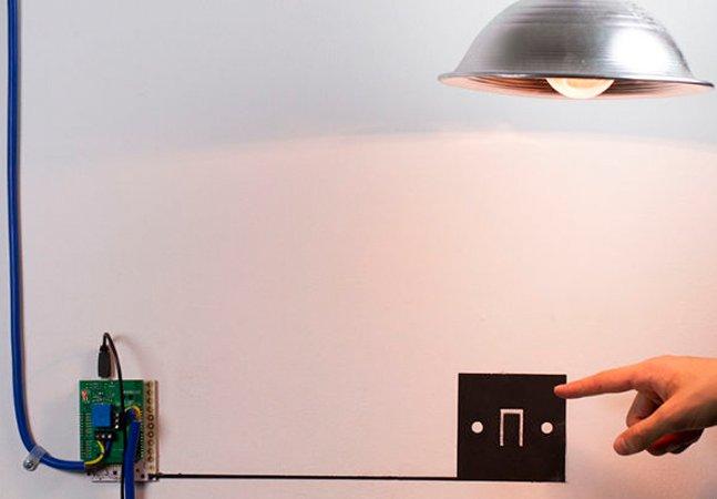 """Esta tinta """"pinta"""" circuitos elétricos que de fato funcionam"""