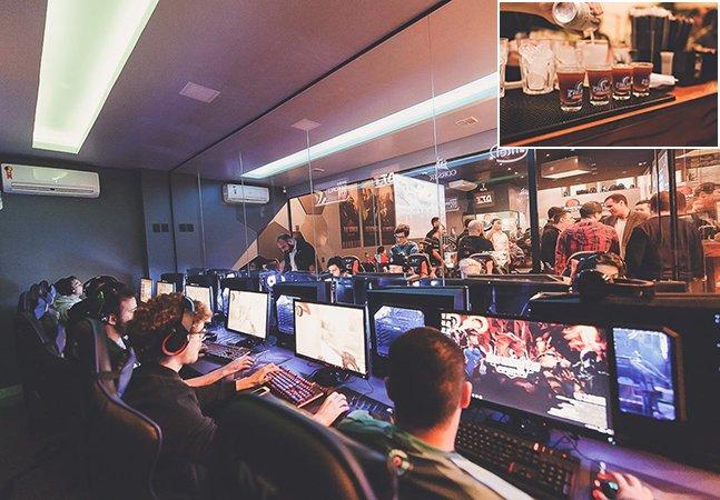 Nova hamburgueria em Curitiba tem também arena para games