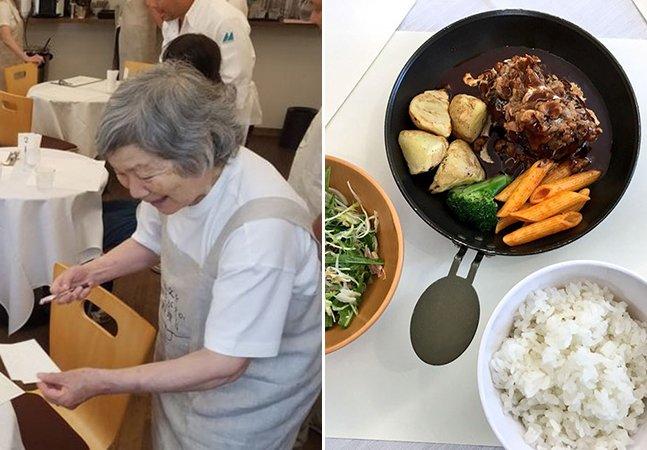 O 'Restaurante dos Pedidos Errados' só contrata pessoas com demência e isso é muito maravilhoso