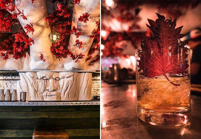 Abriu um bar inspirado em 'Game of Thrones' e nós estamos apaixonados