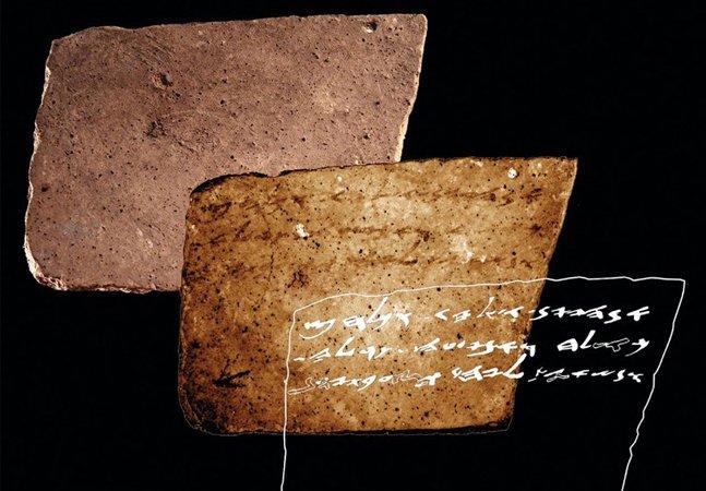'Mande mais vinho', diz esta placa de mais de 2 mil anos descoberta por cientistas