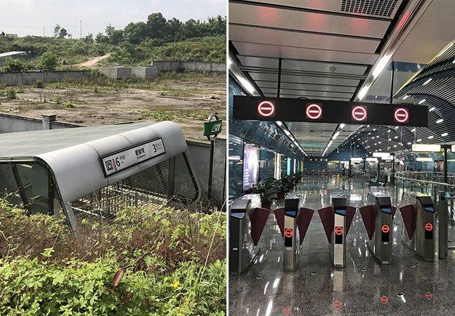 Por fora, esta estação de metrô parece abandonada, mas por dentro vai te surpreender