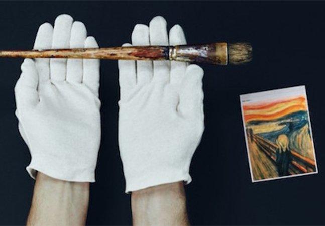 O pincel com mais de 100 anos de Edvard Munch vai estar disponível no Photoshop pra inspirar outros artistas