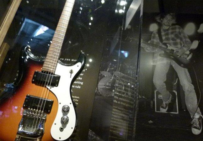 Já abriu a exposição do Nirvana no Rio de Janeiro com mais de 200 itens icônicos da banda