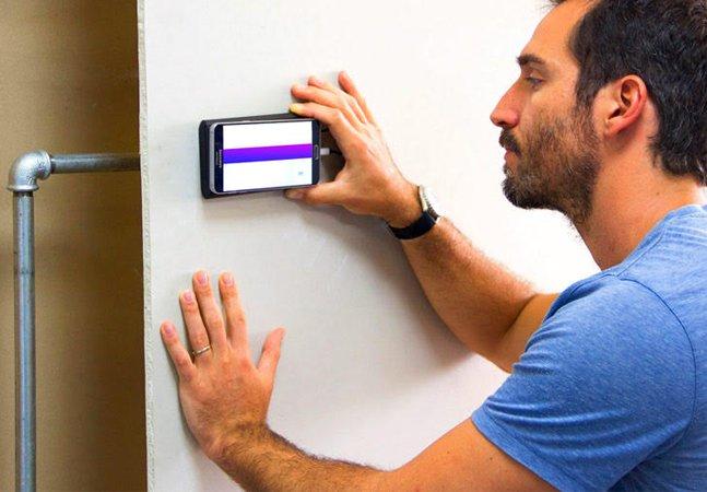 Dispositivo permite que seu celular mostre o que há por dentro das paredes da casa
