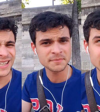 Cearense fala de forma divertida sobre o verão em Paris e viraliza nas redes sociais