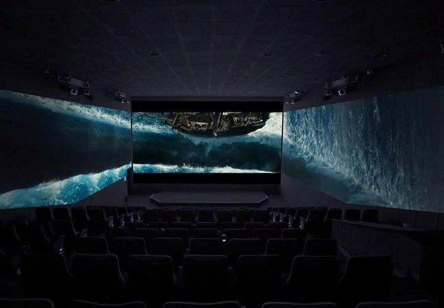 Japão vai inaugurar primeira sala de cinema com três telas