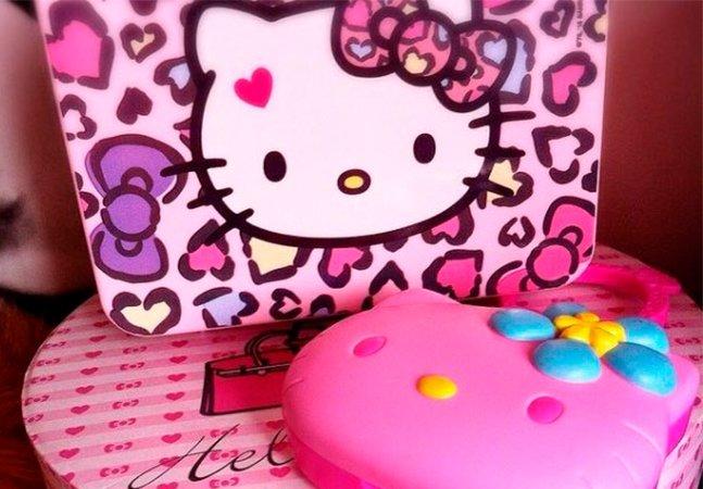 A curitibana que tem mais de 400 itens da Hello Kitty