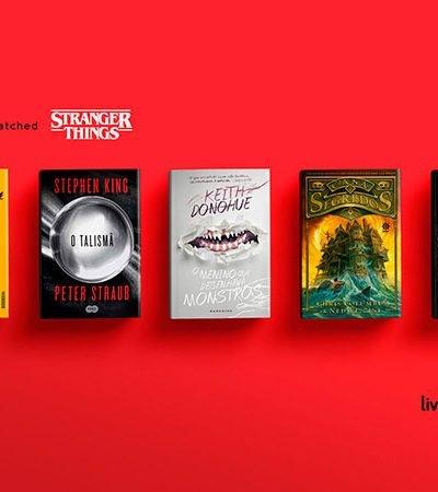 Propaganda inteligente recomenda livros com base em filmes e séries que você assistiu