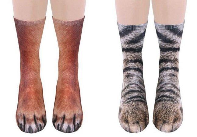 Não estamos sabendo lidar com essas meias de patas de animais hiperrealistas