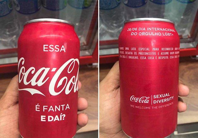 'A Coca que é Fanta' é a melhor ação contra a homofobia que você vai ver neste Dia Internacional do Orgulho Gay