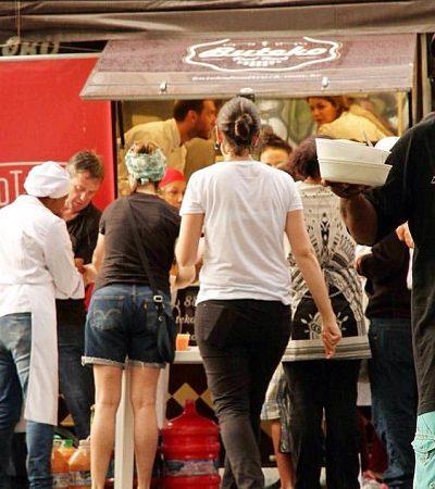 Mineira leva comida vegana a quem precisa com food truck emprestado e ideia faz sucesso
