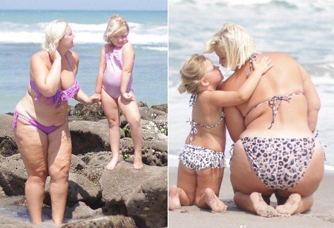 A resposta dessa mãe quando a filha a chamou de gorda é uma aula para muitos adultos