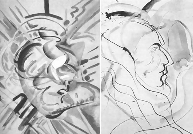 Neste experimento feito nos anos 1950 artistas tomaram LSD e pintaram o mesmo quadro 9 vezes