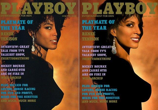 Modelos da Playboy recriam as capas que protagonizaram 30 anos atrás