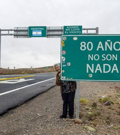 Inspire-se com esta argentina de 80 anos que vai viajar a América do Sul de motorhome