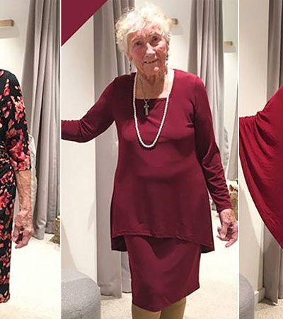 Maravilhosa noiva de 93 anos pede ajuda nas redes sociais para escolher seu vestido