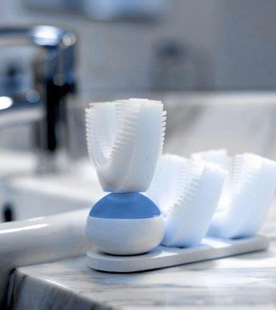 'Escova de dentes' automática não precisa das mãos para ser usada e promete limpar em 10 segundos