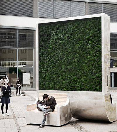 Árvore artificial filtra poluentes com capacidade equivalente a de 275 árvores naturais