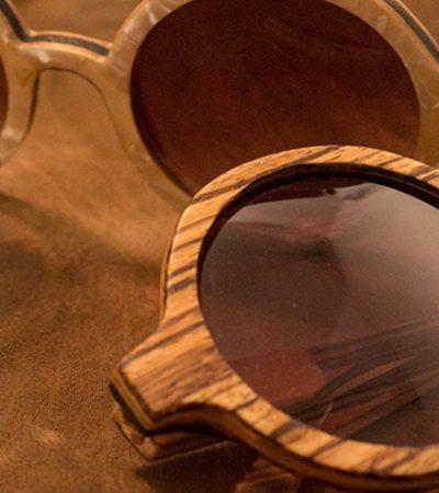Estúdio de design cria incríveis óculos de madeira feitos à mão