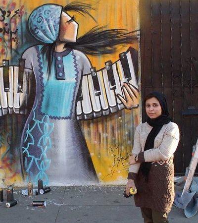 Como artistas afegãs estão usando graffiti para empoderar mulheres