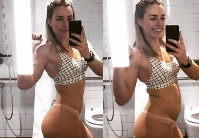 Personal trainer faz antes e depois (do almoço) para acabar com ilusão do corpo perfeito