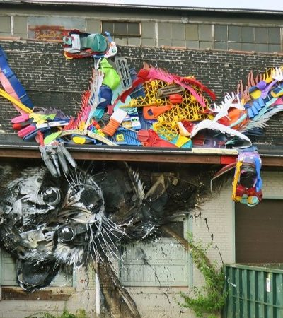O artista português que continua surpreendendo com o que é capaz de fazer com o 'lixo'