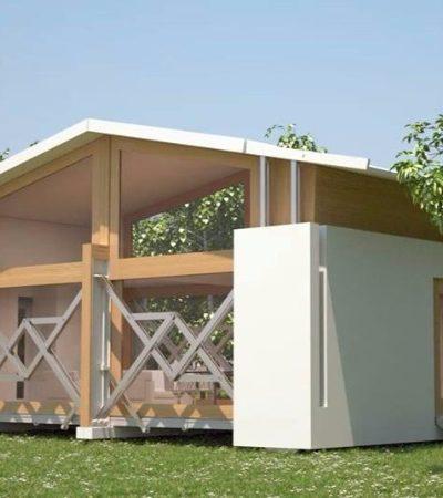 A 'casa do futuro' monta e desmonta sozinha e pode ser levada pra qualquer lugar