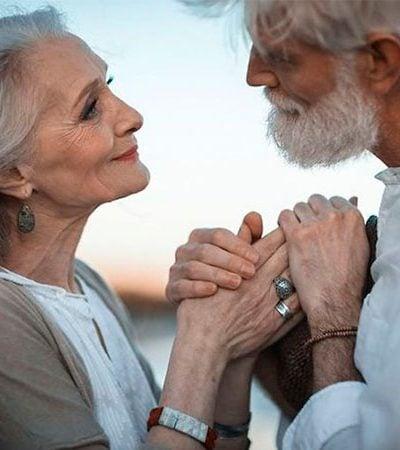 Casal faz sucesso ao provar que não existe idade para se estar loucamente apaixonado