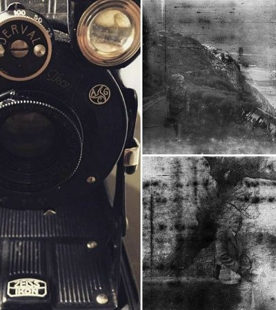 Ele comprou uma câmera de 1929 num antiquário e teve uma bela surpresa