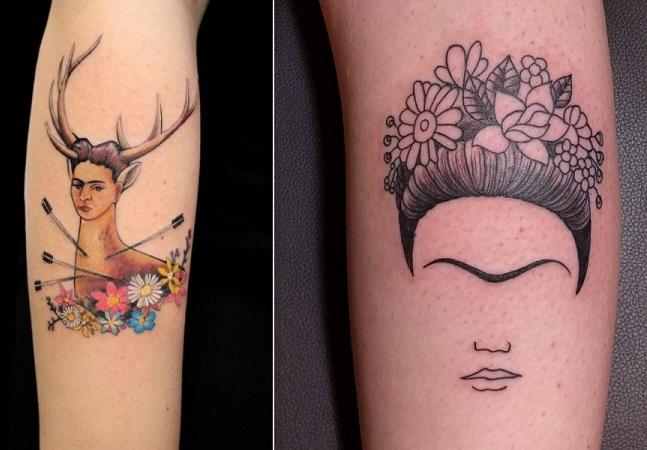 Frida Kahlo faria hoje 111 anos e essas tatuagens são uma ótima forma de celebrar seu legado