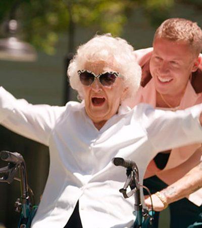 Maklemore realizou todos os desejos da avó em seu aniversário de 100 anos
