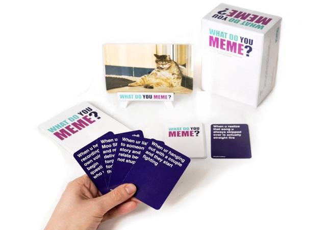 É oficial: criaram um jogo de cartas com MEMES