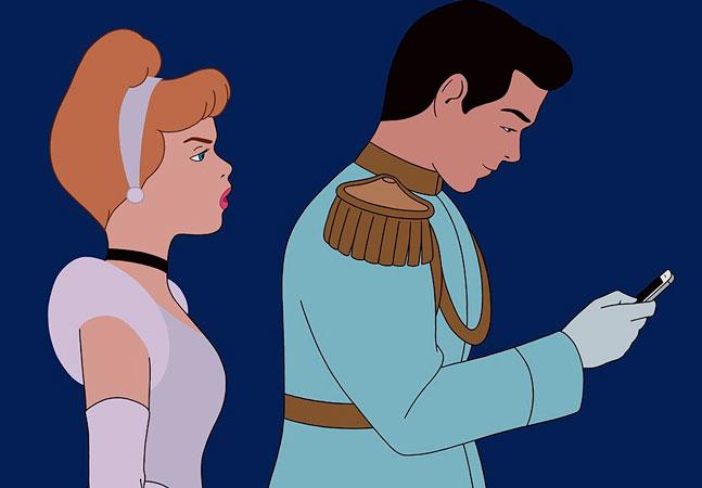 Como seria se os personagens da Disney vivessem no mundo moderno