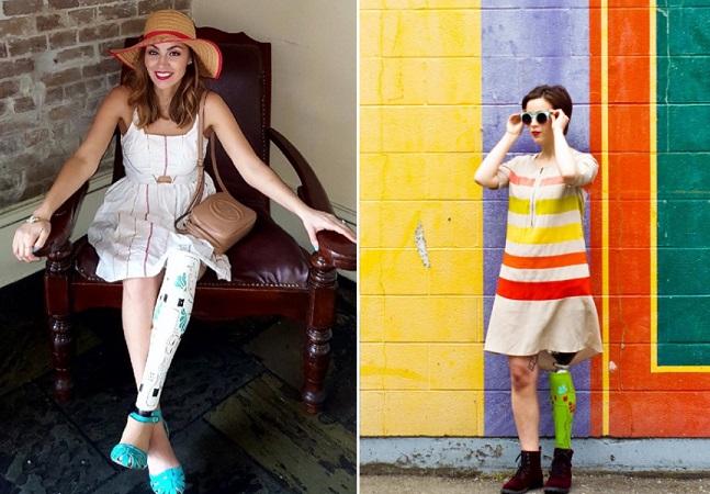 Empresa de moda faz capas de prótese super estilosas para pessoas amputadas