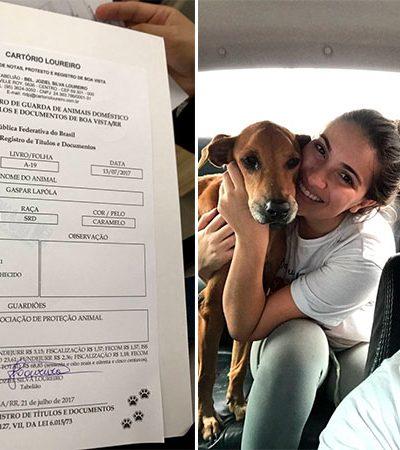 Cartório passa a emitir registro de pets com sobrenome do dono