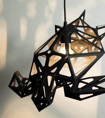 Com essas luminárias inspiradas na vida marinha você vai se sentir no fundo do oceano