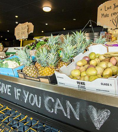 Supermercado onde tudo é de graça é finalmente inaugurado