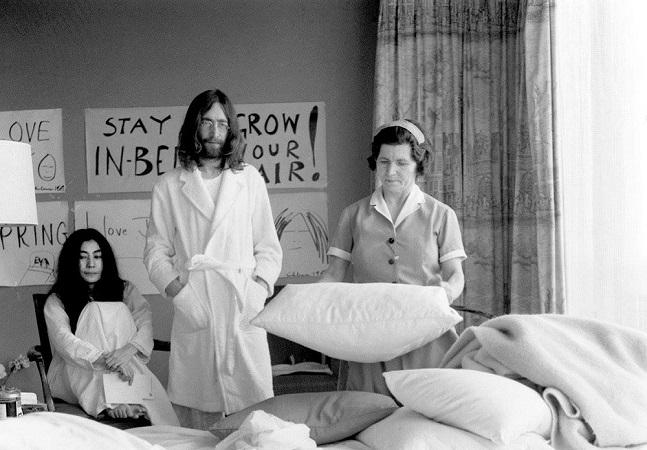 Foto rara recém-descoberta de Lennon e Yoko levanta polêmica e vale uma reflexão