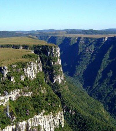 Cânions do Sul do Brasil estão a caminho de se tornar patrimônio mundial