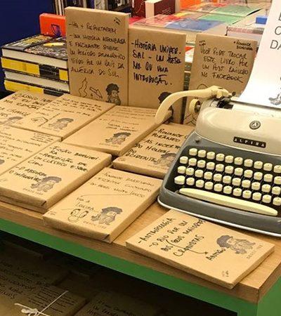 Livraria no RJ desafia pessoas a escolher um livro com base em frase mistério, escondendo a capa, o autor e o título