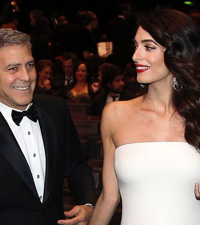 George e Amal Clooney vão enviar cerca de 3 mil crianças refugiadas da Síria para a escola