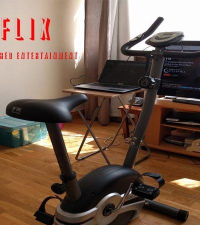Estudante cria projeto fitness que te obriga a pedalar pra assistir ao Netflix