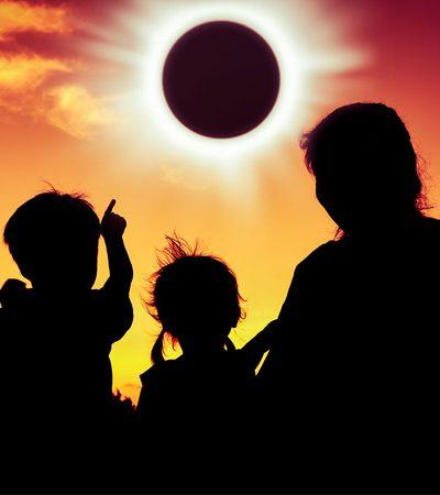 Próximo eclipse solar acontecerá nesta segunda e fará a Terra inchar e você perder peso