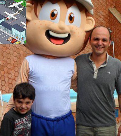 Pai carioca cria jogos do bem para crianças com o objetivo de combater o bullying e celebrar a natureza