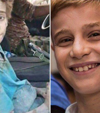 O reencontro entre um garoto sequestrado pelo Estado Islâmico e sua família refugiada após três anos