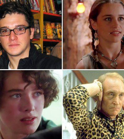 Como eram e o que faziam os atores de Game of Thrones antes da série – alguns são irreconhecíveis