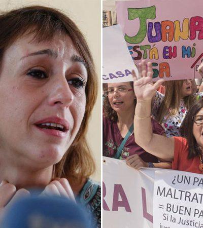 Mulheres se unem para apoiar a mãe que fugiu para não entregar seus filhos ao pai agressor