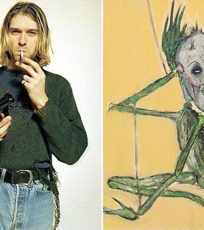 Pinturas inéditas de Kurt Cobain revelam novas dimensões de sua personalidade